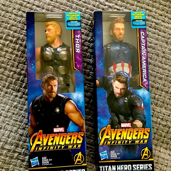 Marvel figures/ for both